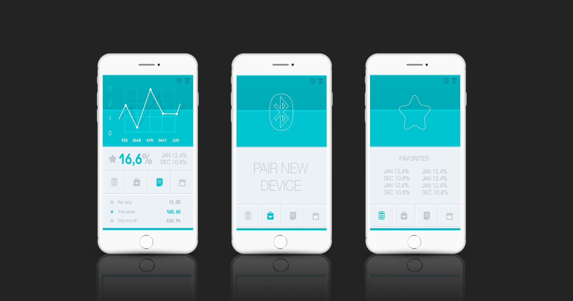 Medical Device App Interface Design
